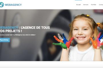 Maquette - WebAgency